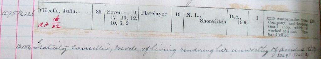 O'Keeffe D 166:85 f103