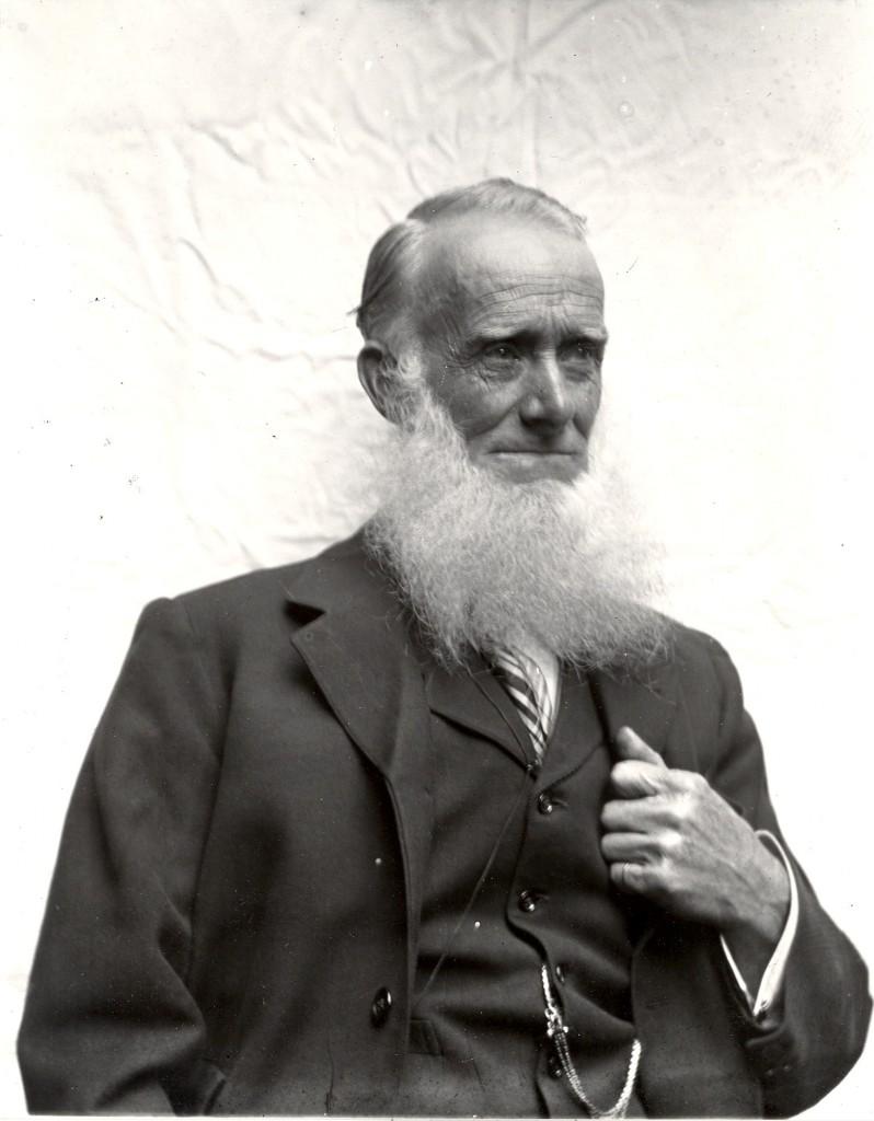 William Acton Gittins, engine driver – 1833 - 1909 NLR Railwayman