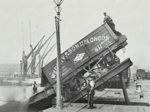 Plate 50 - Poplar Dock on 22nd June 1898