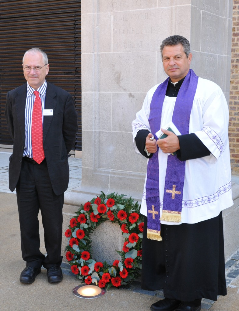 The Memorial Peter Hendy and Rev James Westcott (Photograph: Martin Bloomfield)