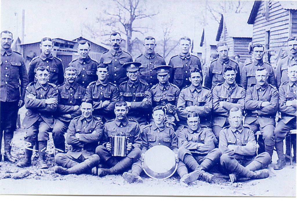 Edward Howard with Comrades - Photograph: Stan Newens